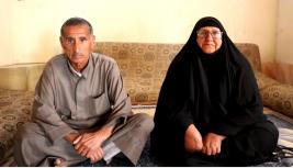 فرع البصرة:  سيدة مسنه تناشد اهل الخير اعانتهم على  حالتهم المعيشية الصعبة
