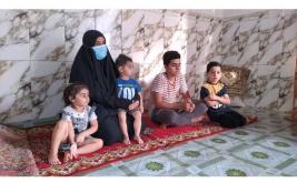 فرع كربلاء: أرملة وأم لستة أيتام تستغيث بأهل الخير والانسانية