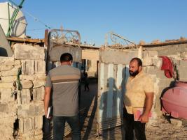 فرع كربلاء : عائلة متعففة تناشد الخيرين لمد يد المساعدة