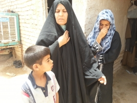 Appeal: widow says she and her orphaned children did not have anything to eat the morning of our visit