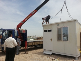 Citizens Advice and Care Centre (Najaf branch) purchase a mobile home for orphans