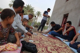 440 Food Cards distributed to displaced families