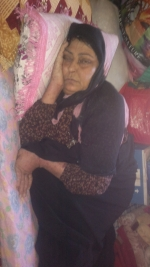 Displaced woman needs urgent on-going medical support