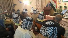 حضور كادر المركز الى الاحتفاليه التي اقيمت في مؤسسه التطوع للمجتمع المدني بمناسبه عيد الغدير
