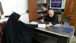 مركز ارشاد الكريعات: السيد/ ضياء حميد رشيد يتبرع لثلاث أسر  من اسر اليتامى