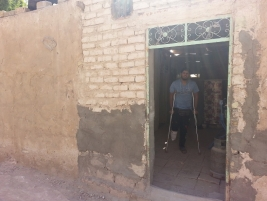 A young amputee needs financial help to complete the roof on his house