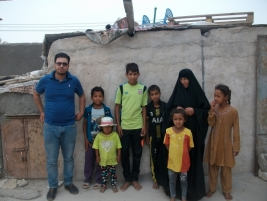Mother to eight orphan children appeals for help