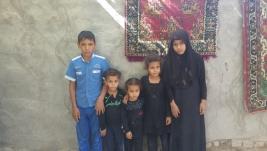 مركز ارشاد النجف :  ام تعيل عشره  اطفال تناشد اهل الخير مساعدتها على مصاعب الحياه