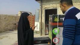 مركز ارشاد النجف : سيده كريمه من اهل الخير يتبرع بمبلغ لتوفير أهم احتياجات / السيده اوصاف جراح
