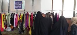 مركز ارشاد الكريعات: السيد/ فاعل خير يرسل ملابس مختلفة بيد السيدة /هند الصفار